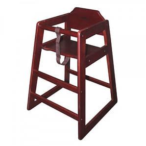 Стул для детей деревянный красный