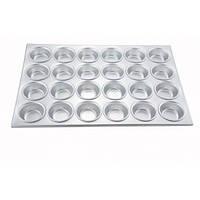 Форма для выпечки маффинов 12 шт., 35х28 см. алюминиевая