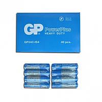 Батарейка GP 24C-IS4 по 4 штуки синие mini