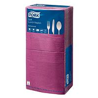 Салфетка бумажная 3-х слойная 33х33 см., 250 шт/уп фиолетовая Tork Advanced