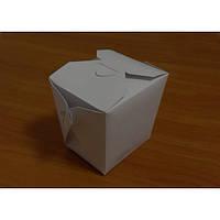 Бокс бумажный для еды на вынос 700 мл. 100 шт/уп