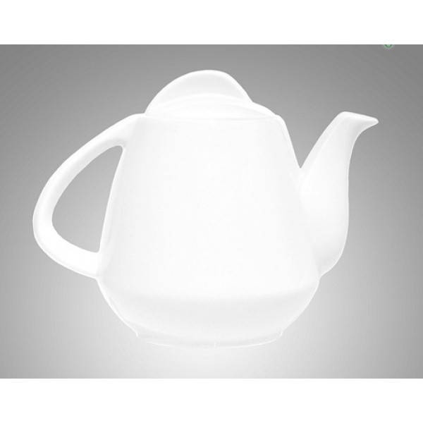 5b750716a185 Чайник заварочный фарфоровый 900 мл. белый Farn  продажа, цена в ...