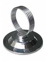 Подставка кольцо (холдер) для меню металлическая Winco