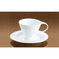 Чашка с блюдцем чайная, 200мл