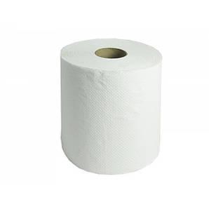 Полотенце бумажное в рулоне целлюлоза 2 слоя 200х185 мм 110 метров перфорация