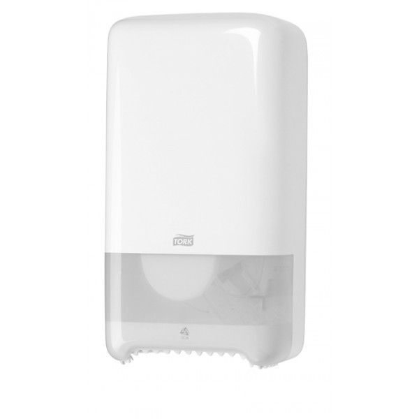 Диспенсер для туалетной бумаги на 2 рулона Авто шифт, белый Tork