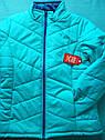 Демисезонная женская куртка Faded Glory  Размер М Цвет бирюза, фото 3