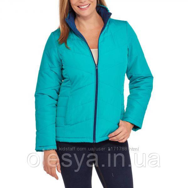 Демисезонная женская куртка Faded Glory  Размер М Цвет бирюза