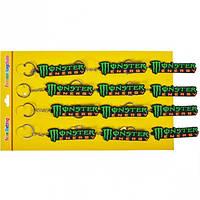"""От 12 шт. Брелок резиновый """"Monster Energy"""" купить оптом в интернет магазине От 12 шт."""