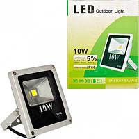 Прожектор LED уличный 14017-10W холодный 130*120*35мм