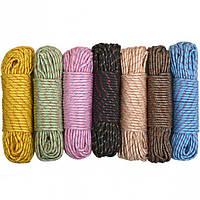 Веревка цветная D 8мм 30м
