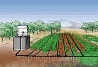 Система капельного полива своими руками на 1-2 сотки (в наборе 200м кап. ленты)