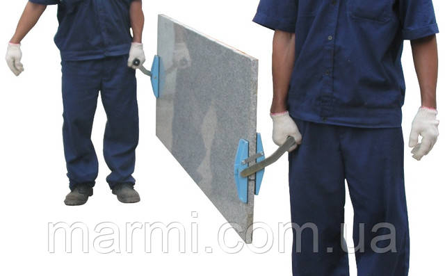 Зажим для переноски каменных плит