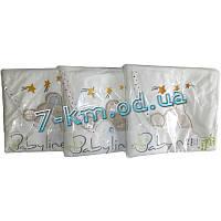 Полотенце для купания Len485 махра 1 шт (90x90 см)