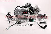 Двигатель мопедный в сборе 110куб (Active)