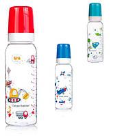 Бутылка 250 мл с рисунком /BPA FREE/, коллекция 'Машины' (100) 11/848 'Canpol'