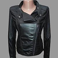 Куртка женская из натуральной кожи.