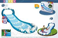 Надувная горка Surf 'n Slide Intex 57469