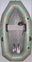 Резиновая, надувная лодка Лисичанка 1 местная