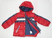 """Демисезонная куртка на пуху """"Prenatal"""" для мальчика. На рост 69, 76, 83 см."""