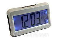 Купить оптом Настольные часы-будильник с термометром,подсветкой