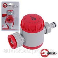 Таймер для подачи воды Intertool GE-2011 двухканальный распределитель с сеточным фильтром,внутр резьба 3/4