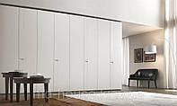 Модульный шкаф в гостиную белый