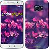 "Чехол на Samsung Galaxy S6 G920 Пурпурные цветы ""2719c-80"""