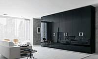 Модульный распашной шкаф черный Глянец, фото 1
