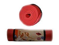 Коврик для йоги и фитнеса. Размер 183 х 61 х 1 см