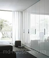 Модульный распашной шкаф белый Глянец
