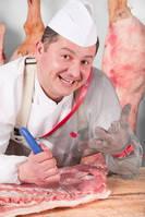 Ножи и перчатки для мясопереработки