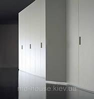 Модульный белый распашной шкаф Лема