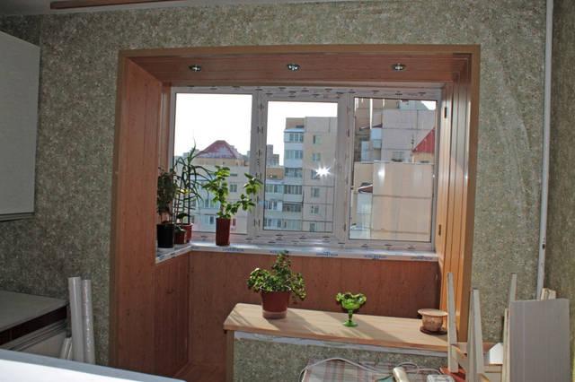 Внутренняя отделка балкона в бпс-6 серии дома в портфолио ко.