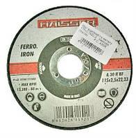 Круги отрезные по металлу HAISSER 180х2,5х22,2