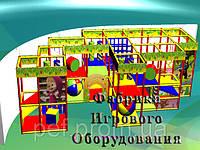 """Детский игровой лабиринт """"Лего"""", фото 1"""