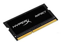 Оперативная память HyperX 8GB [DDR3 1600MHz Non-ECC CL9 SODIMM 1.35 V Impact Black Series]