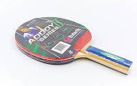 Ракетка для настольного тенниса Butterfly (1шт) 16300 ADDOY II-S2 TT-BAT (древесина, резина)*