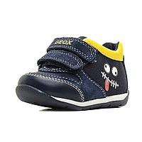 Кроссовки Geox темно-синий/желтый, р. 20 B720BB-01022-C0657 ТМ: Geox