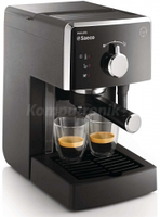 Ріжкова кавоварка еспресо Saeco Poemia Manual Espresso (HD8423/19)