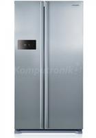 Холодильник з морозильником Samsung RS7528THCSL