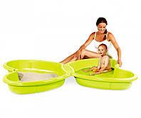 Игровые площадки «Smoby» (310143) песочница-бассейн бабочка с подводом для воды
