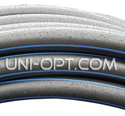 Трубы полиэтиленовые пнд черно-синяя Ø32 PN 6