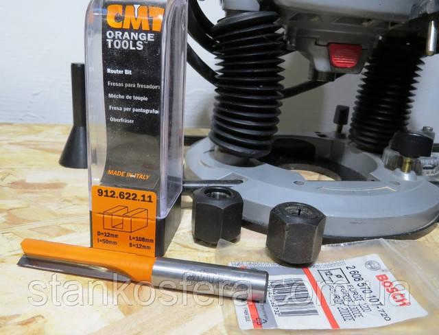 кінцева фреза твердосплавна CMT 912.622.11 (Італія) D=12 мм