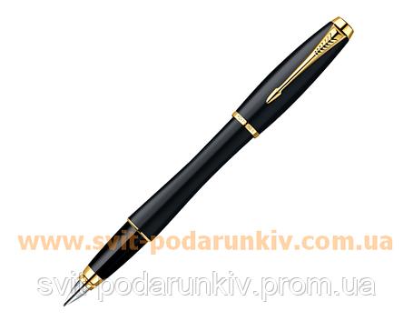 Ручка перьевая Parker Urban Muted Black GT FP 20 212Ч, фото 2