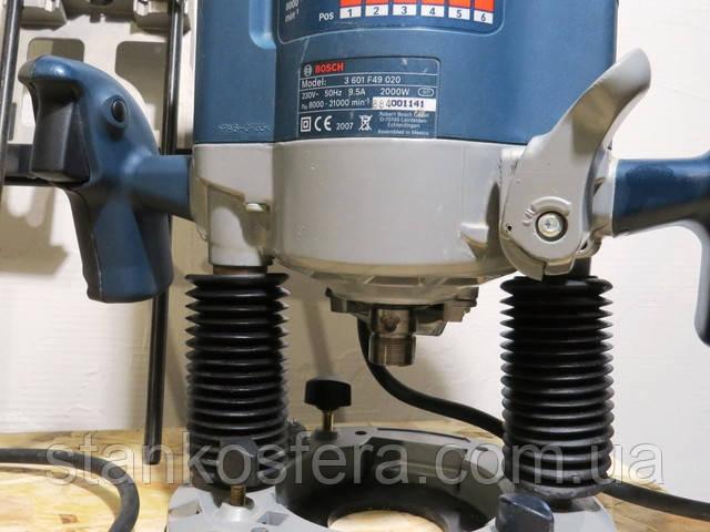 Фіксатор вертикального переміщення фрезера Bosch GOF 2000 CE