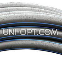 Трубы полиэтиленовые пнд черно-синяя Ø90 PN 6