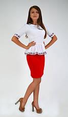 Оригинальная нарядная блуза, фото 3