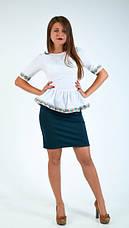 Оригинальная нарядная блуза , фото 3