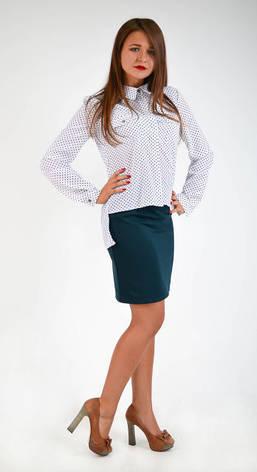 """Интересная классическая рубашка """"Яна"""" размеры 44,46,48, фото 2"""